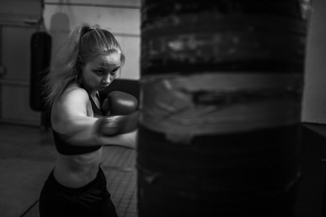 Nýjir hádegistímar í Fitnessboxi