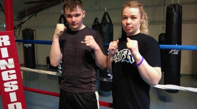 Hildur og Davíð boxarar ársins